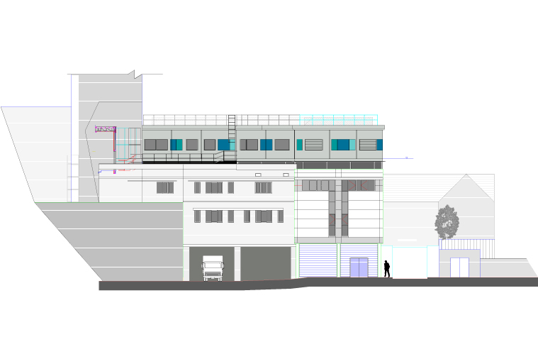 Plan of modular college project