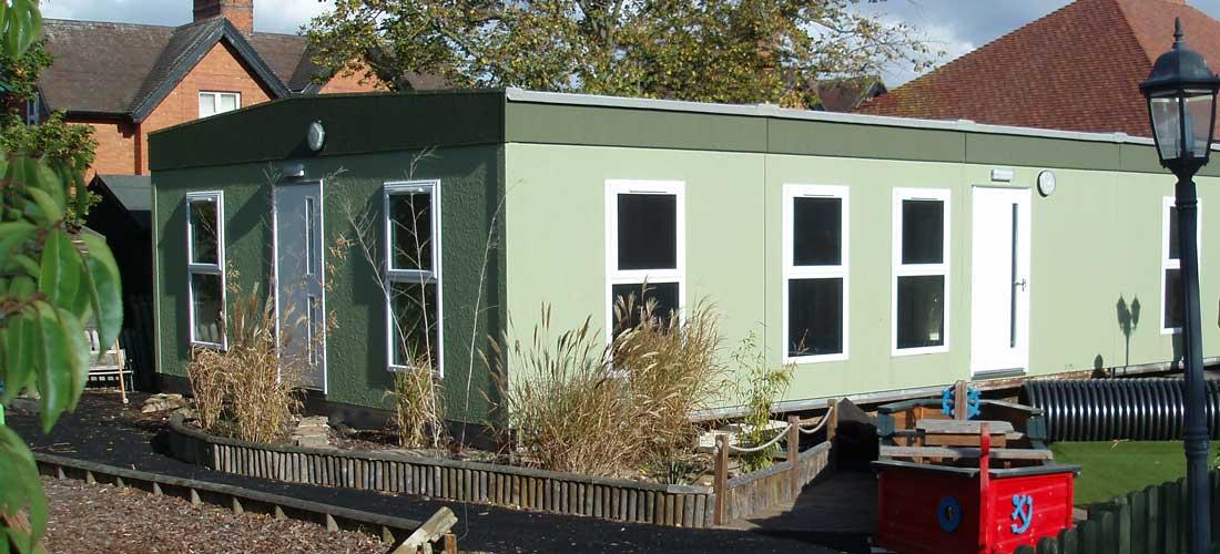 Modular nursery refurbishment progress