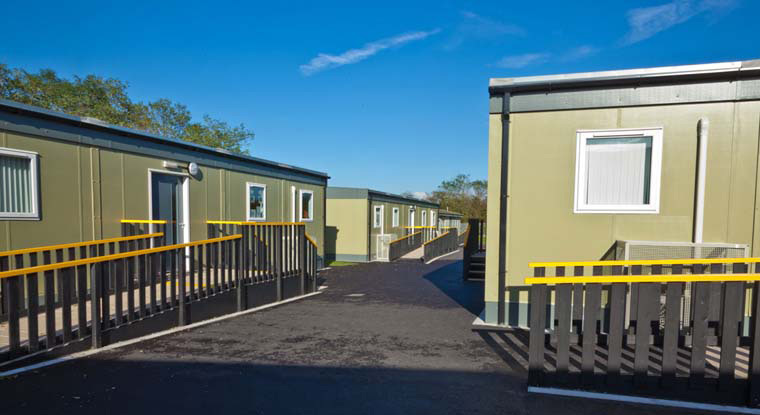 Classrooms from used modular buildings
