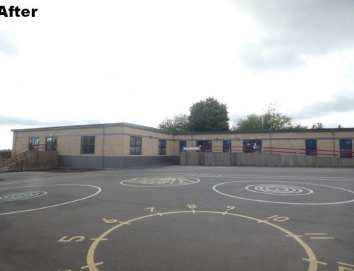 Latest extension and refurbishment of an existing modular classroom