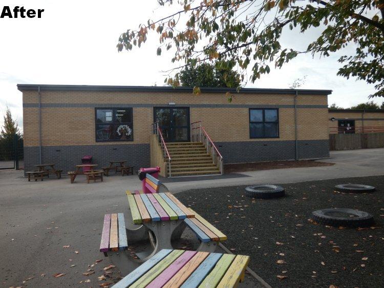 extending modular classroom