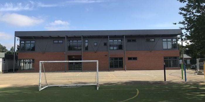 two storey classroom block for special needs school