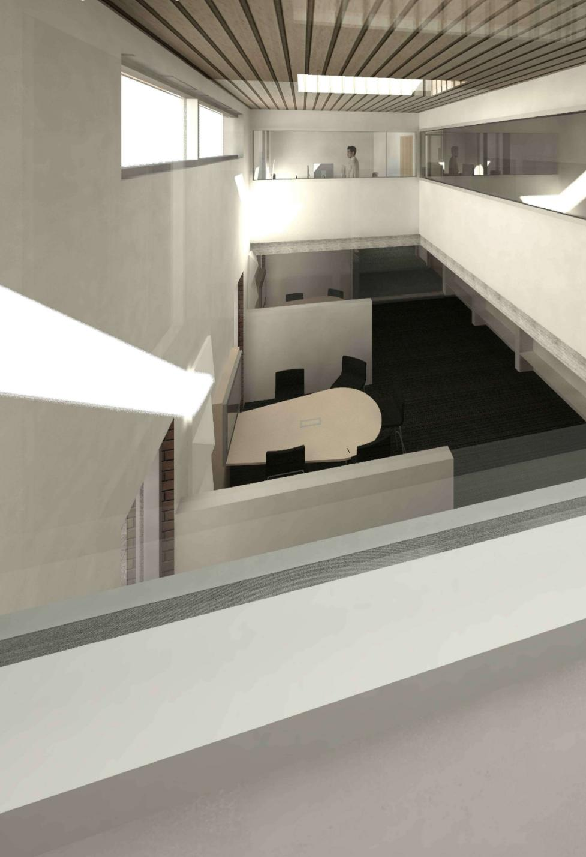 modular classroom digital render