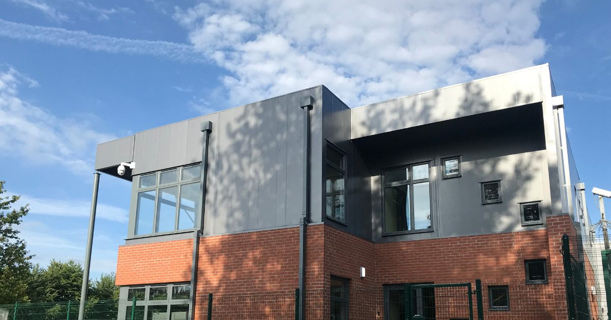 modular classroom block by mph building systems