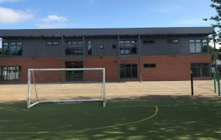 modular classroom building designed by MPH building systems
