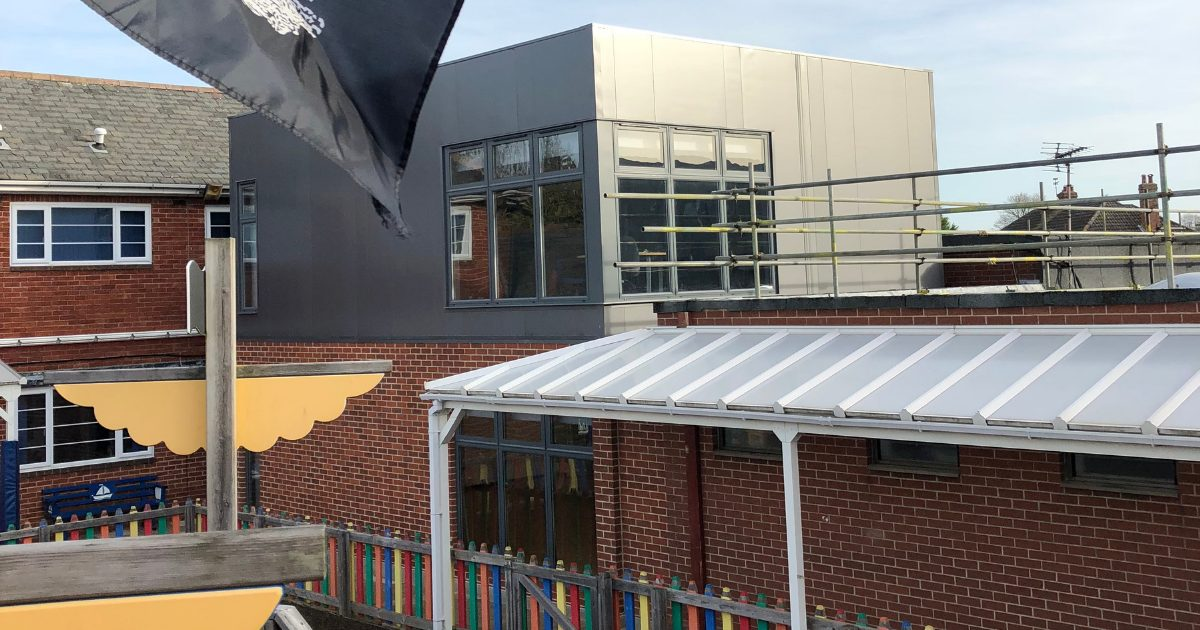 modular school extension MPH building systems