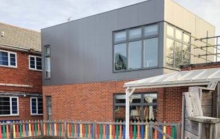 modular school extension