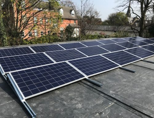 PV Panels on Modular Build