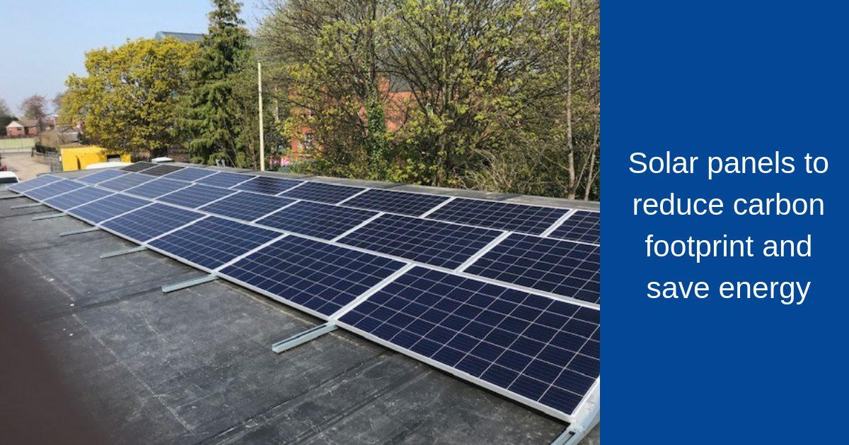 solar panels pv panels on modular build
