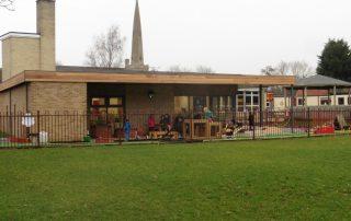 Modular Nursery Building external wide view