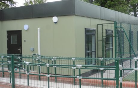modular sports pavilion
