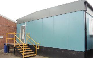 used modular welfare unit