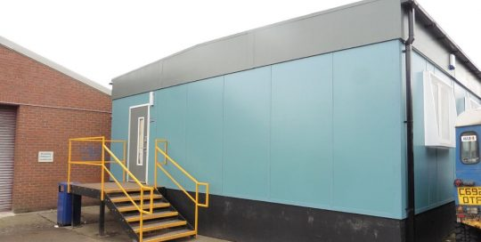 used modular welfare unit