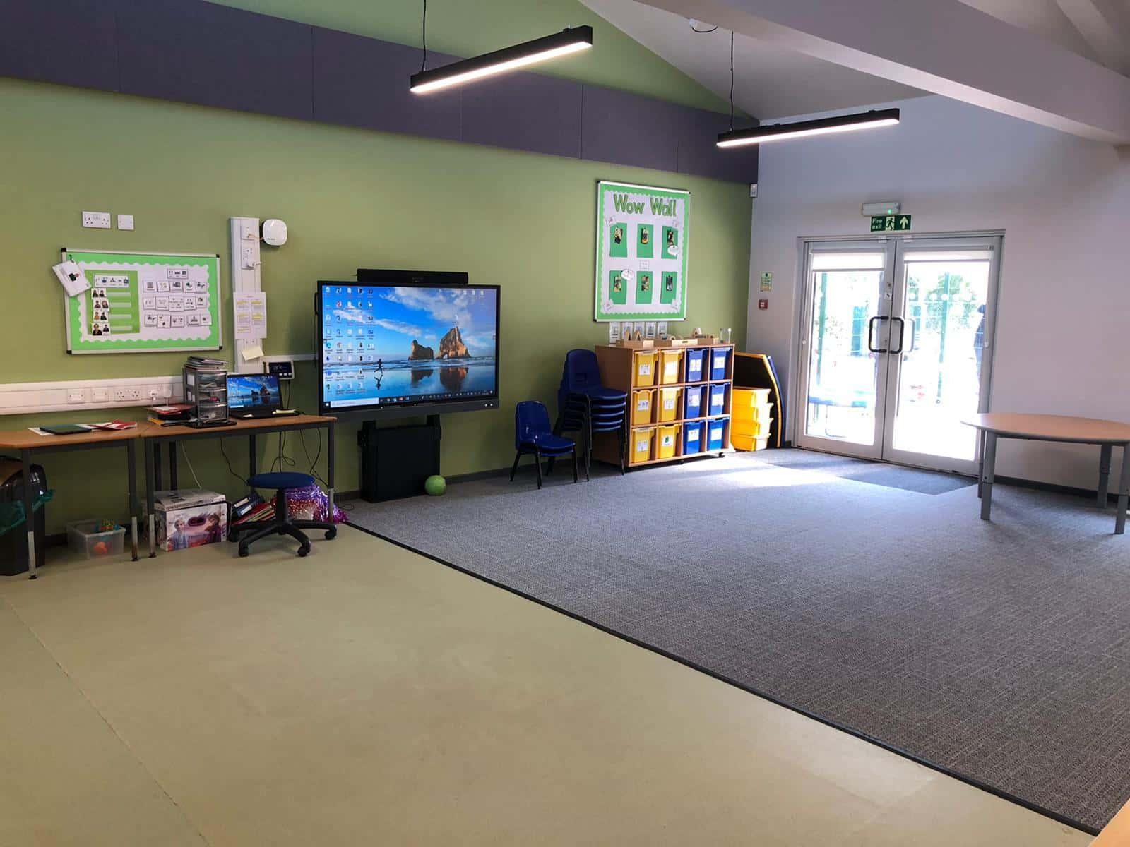 The Garth Modular Classroom - Internal