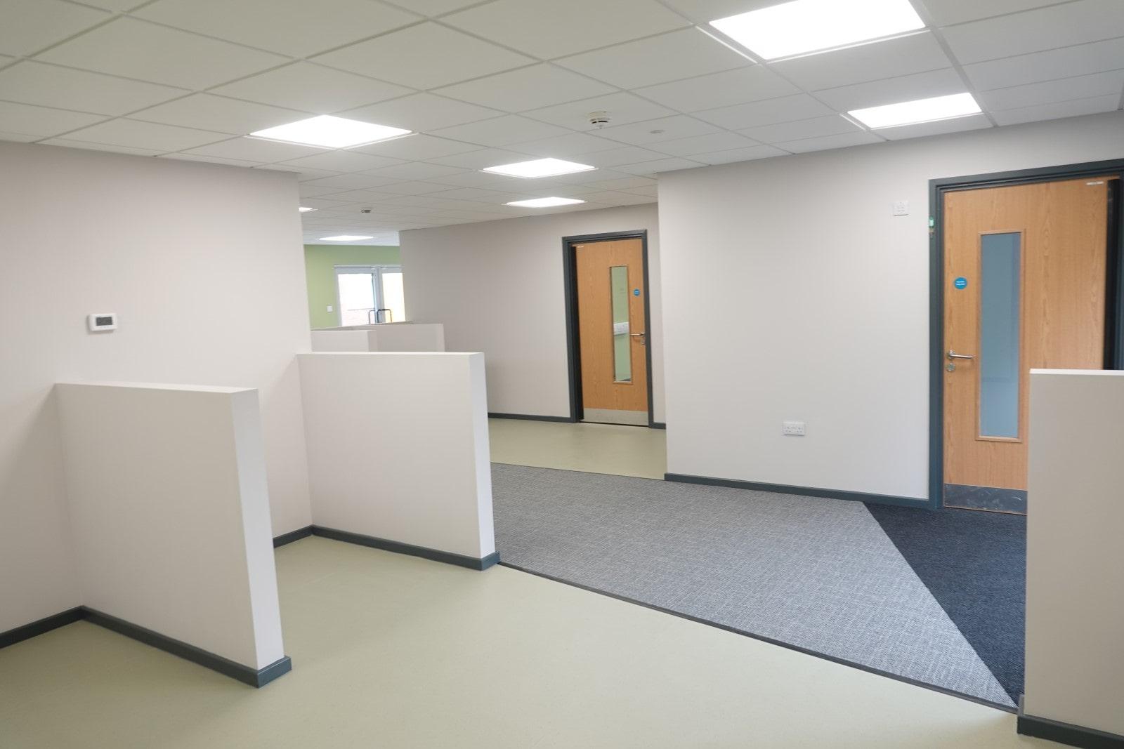 Inside The Garth School Modular Classroom Building
