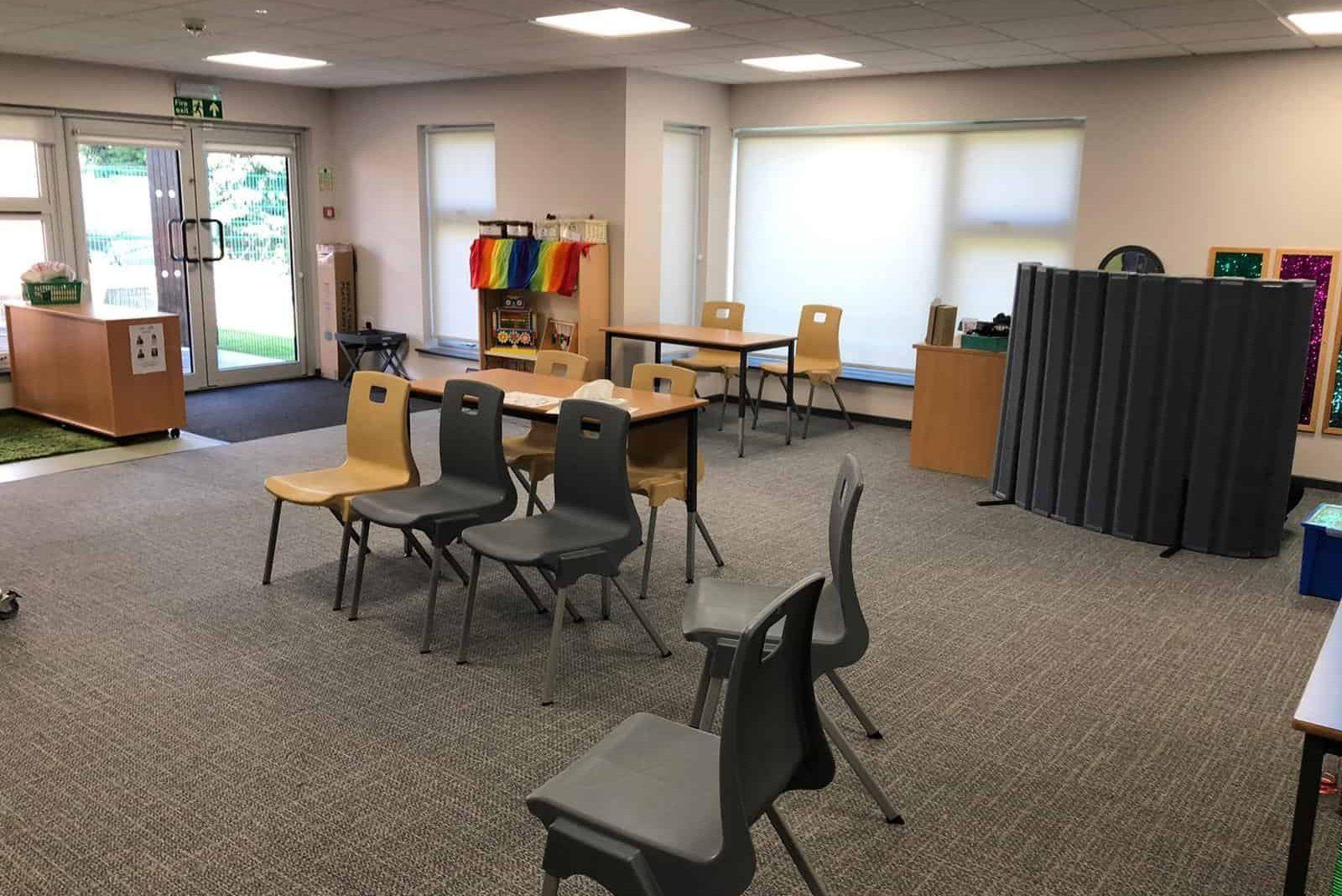 Internal The Garth School Modular Classroom Extension