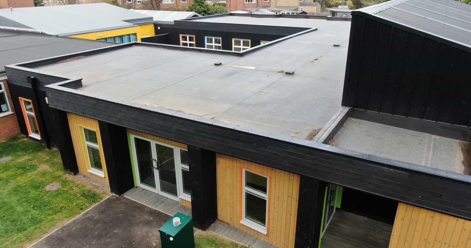 The Garth School Modular Buildings In Lincolnshire-min