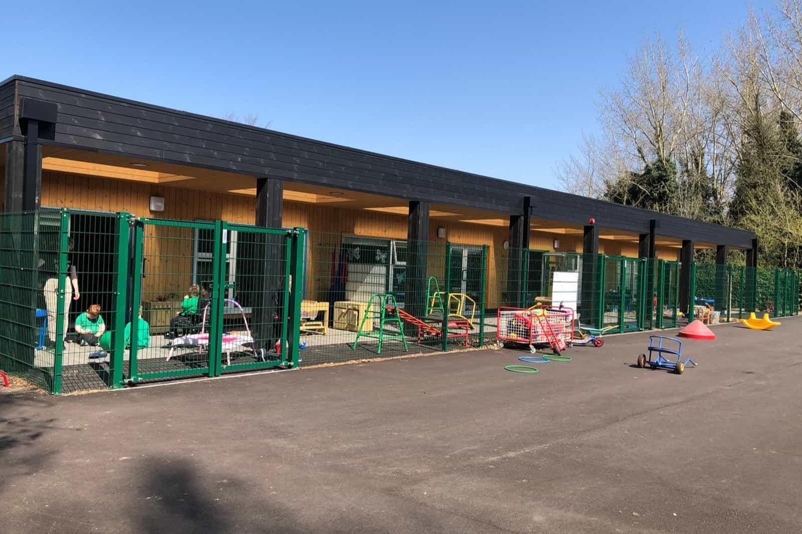 The Garth School Modular Classroom Buildings Single Storey