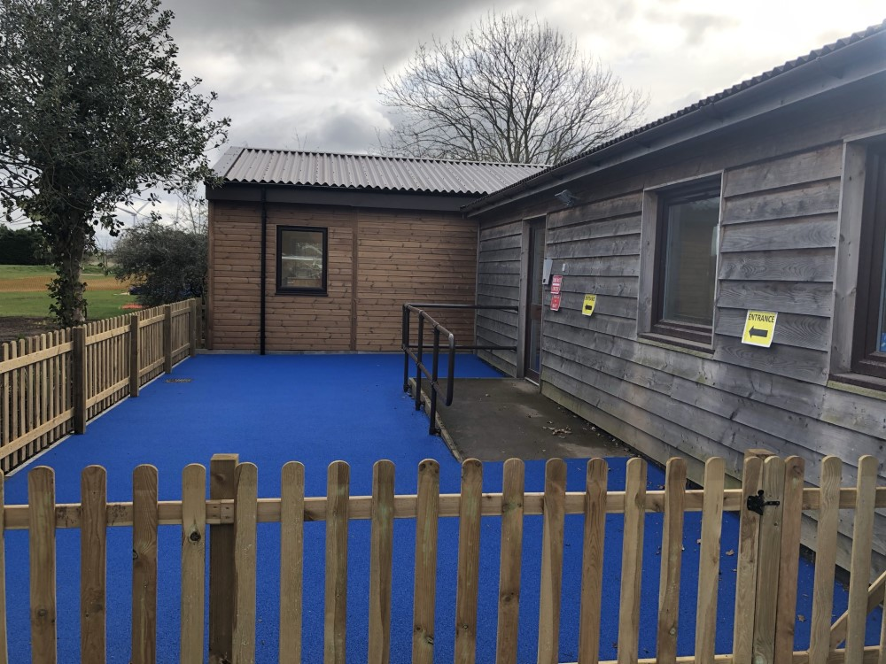 Langford Village Modular Nursery Extension With Play Area Bedfordshire