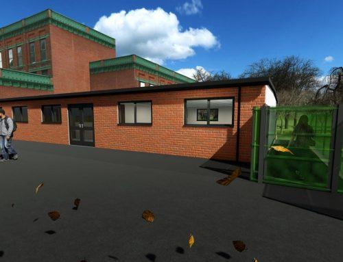 Modular School Extension Northamptonshire – Wollaston School