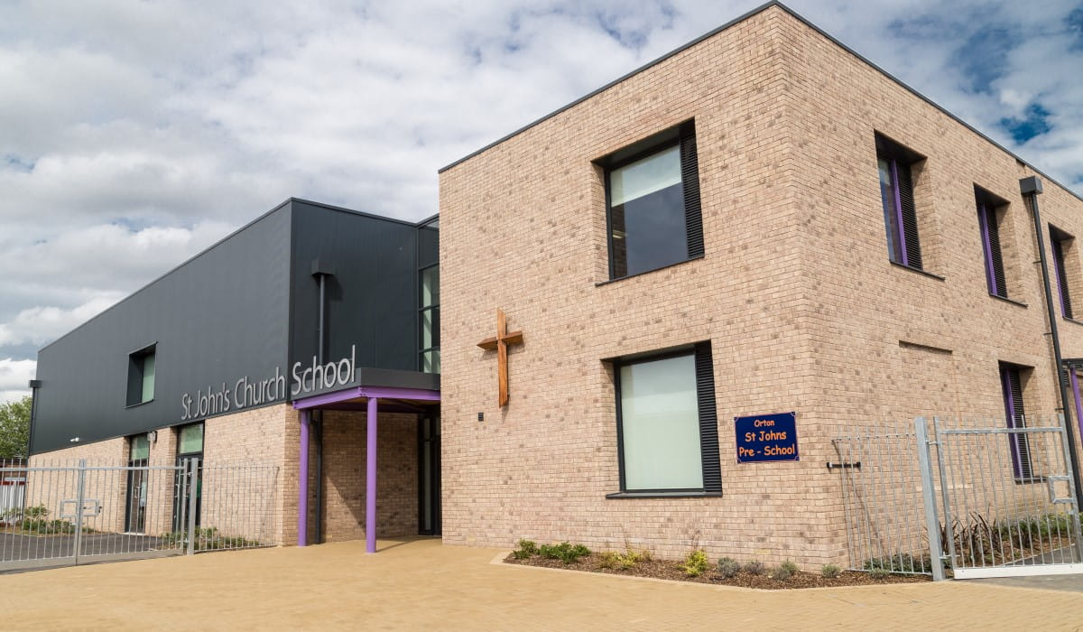 St John's Church School Peterborough